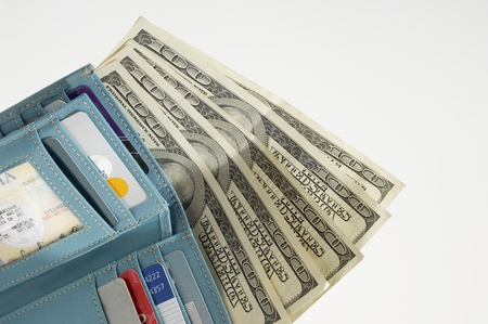 Wallet Full of Money Stock Photo - 12737169