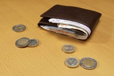 Wallet Full of Money Stock Photo - 12737171