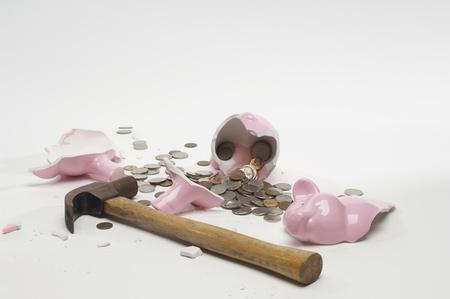 Broken Piggy Bank LANG_EVOIMAGES