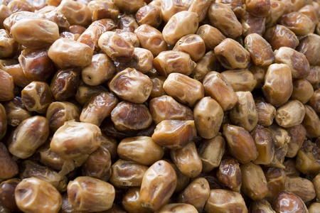 Dubai UAE Dates one of many fresh produce for sale at Shindagha Market in Bur Dubai Stock Photo - 12735560