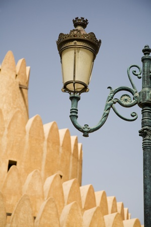 Al Ain UAE Architectural detail of Al Ain Palace Museum in Al Ain Stock Photo - 12737494