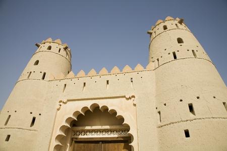 Al Ain UAE Front entrance of Al Jahli Fort in Al Ain Stock Photo - 12737500