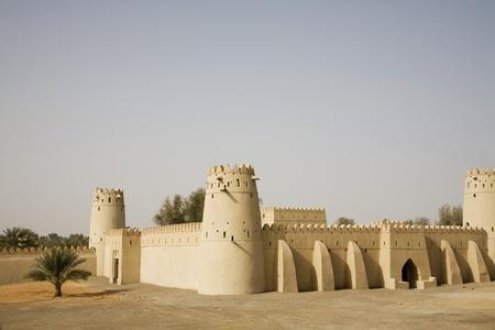 Al Ain UAE Al Jahli Fort in Al Ain Stock Photo - 12737503