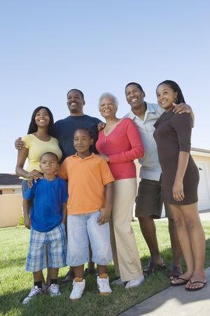Family portrait Stock Photo - 12737524