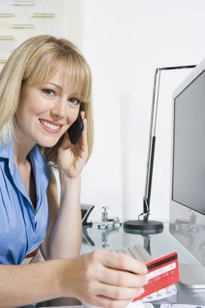 Financial Advisor On The Phone Stock Photo - 12735359