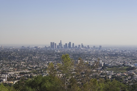 Californian skyline Stock Photo - 12735315