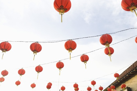 stereotypically: Chinese lanterns California