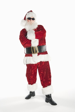 Santa Claus wearing sunglasses Stock Photo - 12735128