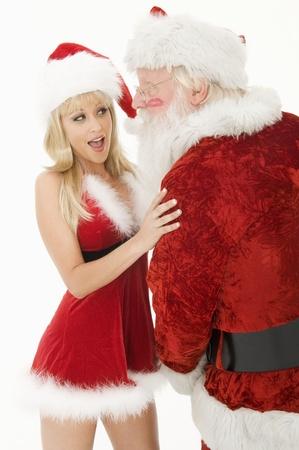 pere noel sexy: Père Noël et Mère Noël