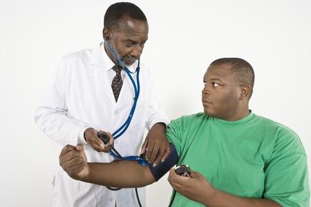 patient: Doctor examining patient