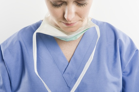 Threatre nurse Stock Photo - 12737911
