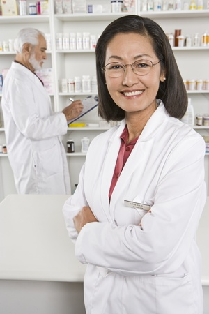 Female pharmactist portrait Stock Photo - 12737958