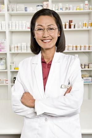 Female pharmactist portrait Stock Photo - 12737990