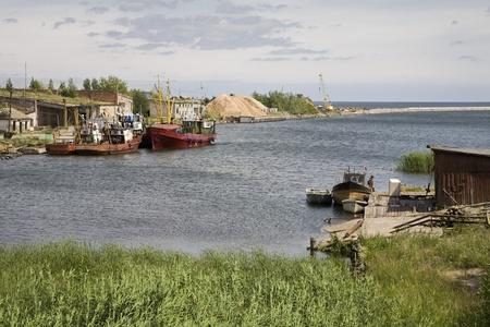 Latvian fishing village Stock Photo - 12738234