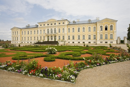 Stately home in Latvia Stock Photo - 12738237