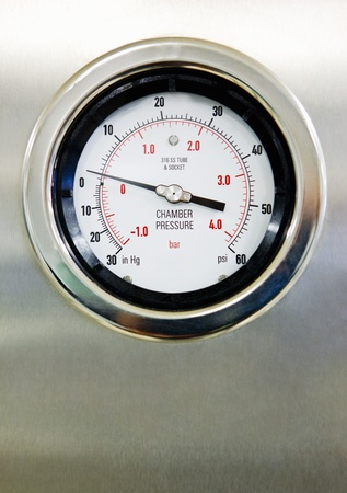 Hospital Pressure Gauge Stock Photo - 12738343