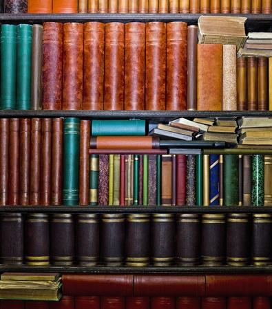 LIbrary of books in Bulla Murcia Spain Stock Photo - 12738359