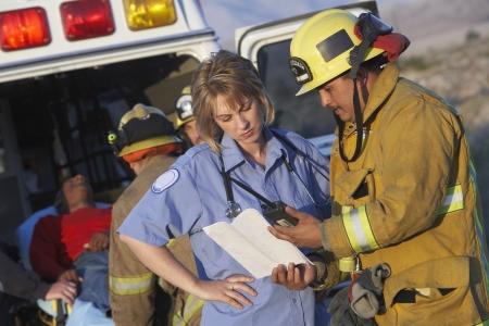 ambulancia: Bomberos y Param�dicos
