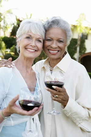 ethnically diverse: Older Friends