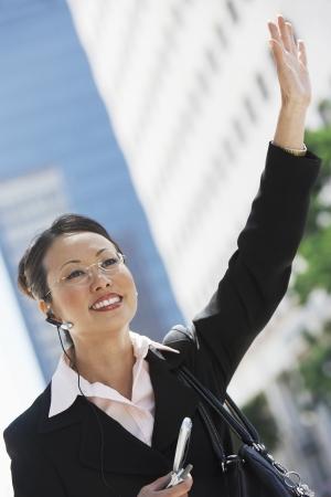 hands free: Empresaria Provenientes Cab uso del tel�fono celular con manos libres