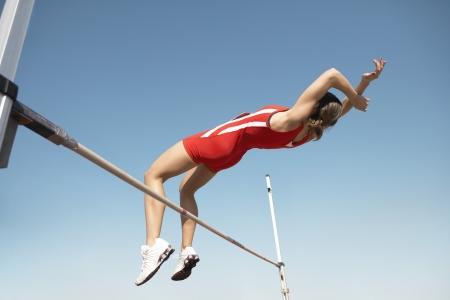 only mid adult women: High Jumper LANG_EVOIMAGES