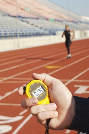 watch movement: Stopwatch Timing Runner LANG_EVOIMAGES