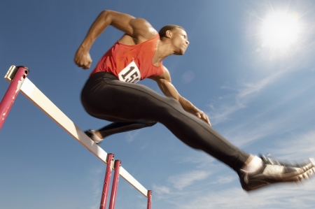 athletic gear: Hurdler LANG_EVOIMAGES