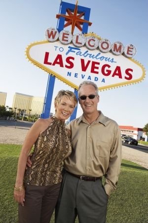holidaymaker: Couple On Vacation in Las Vegas