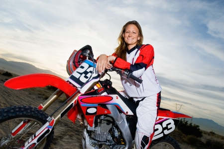 role reversal: Motocross Racer