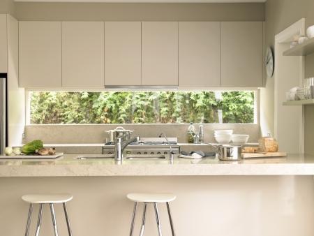 domestic kitchen: Kitchen interior