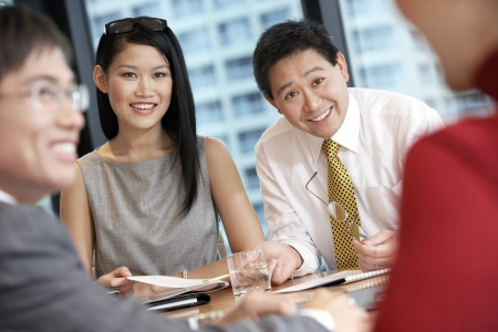teammate: Businesspeople Working Together