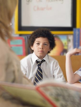 ethnic mixes: Listening to Teacher Read