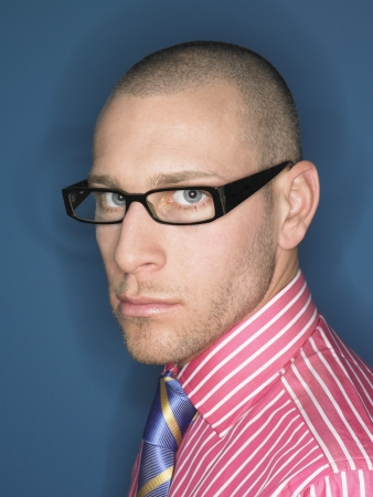 business roles: Businessman Wearing Spectacles