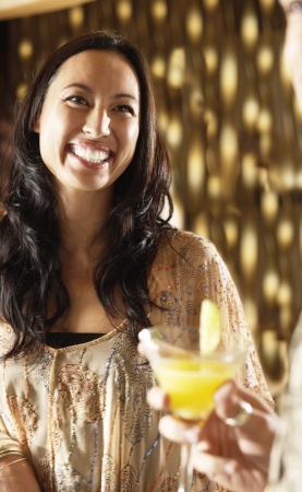 middle easterners: Woman at Bar LANG_EVOIMAGES