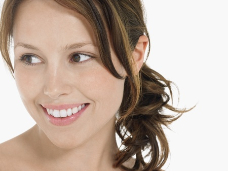 Young Woman Smiling Stock Photo - 18885653