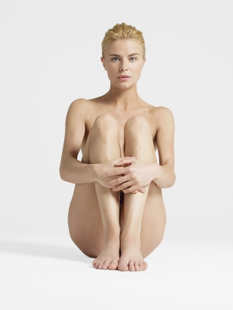 naked female body: Nude Young Woman LANG_EVOIMAGES