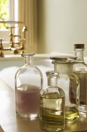 the bather: Bottles of Bath Oils by Bubble Bath