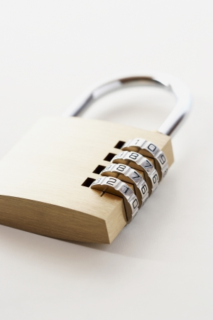 locking up: Combination Padlock