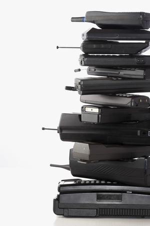 obsolescence: Pile of Old Phones LANG_EVOIMAGES