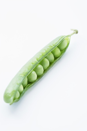 silhouettable: Open Pea Pod With Peas Inside LANG_EVOIMAGES