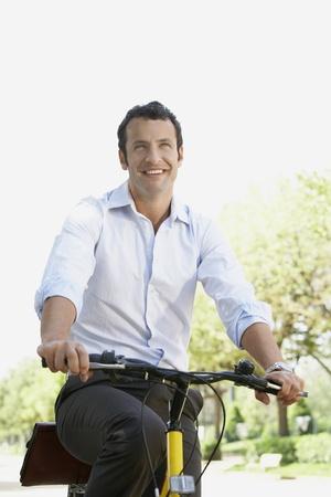 spaniards: Businessman on Bicycle