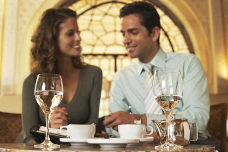 late 20s: Couple Enjoying Tea