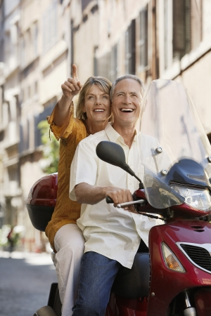 holidaymaker: Older Couple on Vacation