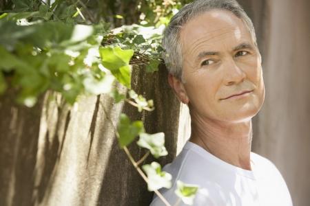 early 60s: Older Man Outside