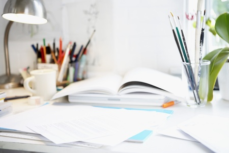Artist's Desk Stock Photo - 18884849