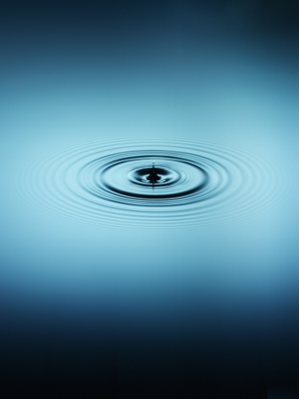 concentric circles: Ripple in water