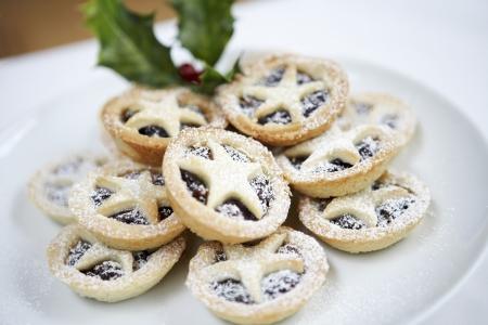 galletas de navidad: Plate de los Cookies de Navidad