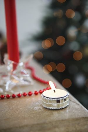 domesticity: Tealight at Christmas LANG_EVOIMAGES