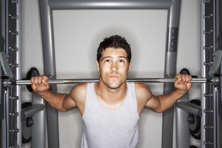 Man Lifting Weights Stock Photo - 18885850