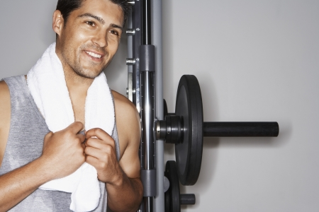 Man Lifting Weights Stock Photo - 18885853